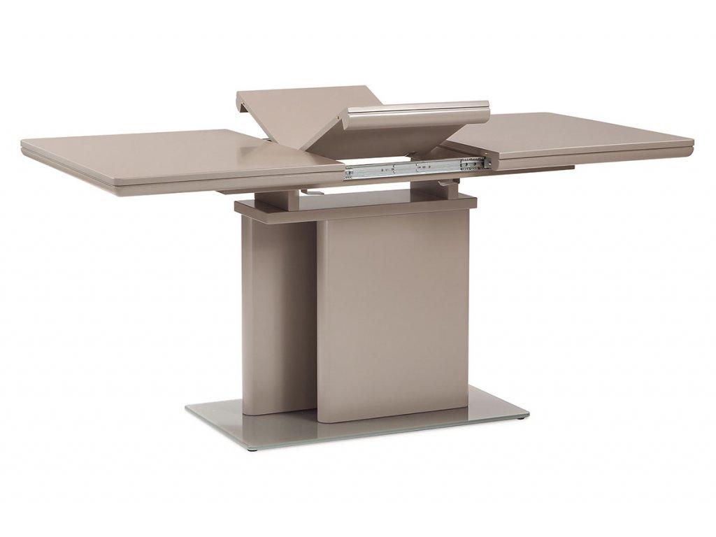Jídelní stůl rozkládací lanýž / lesk 120 - 160 x 80 cm