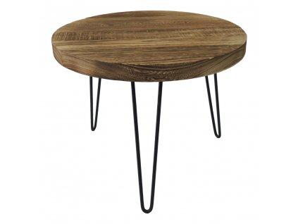 Stolek dřevěný 45 cm