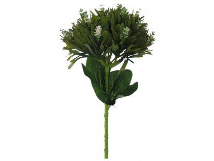 Květina bílá 48 cm