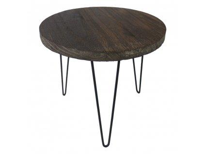 Stolek dřevěný 34 cm