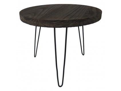 Stolek dřevěný 50 cm