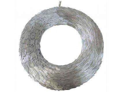 Věnec stříbrný 54 cm