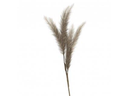 Květina hnědá 90 cm