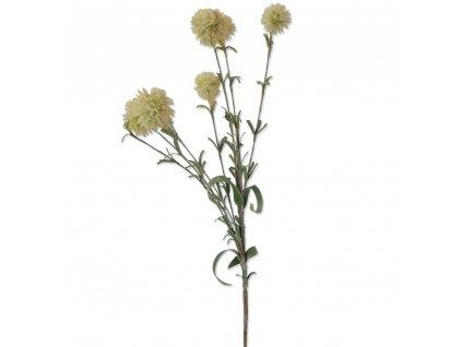 +Umělá květina broskvová  bodlák 57 cm