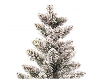 Vánoční stromek zasněžený DELUXE Viola v květináči 45 cm