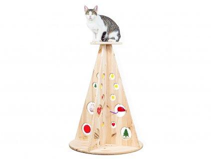 Vánoční stromeček pro kočky