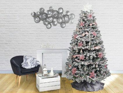 Ozdobený stromeček RŮŽOVÁ POHÁDKA