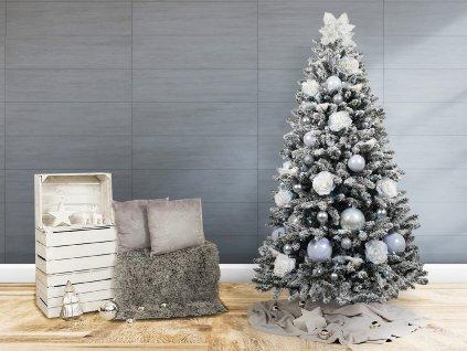 Ozdobený stromeček SNĚHOVÉ KOULE