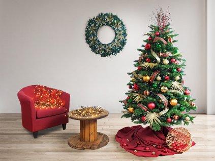 Ozdobený stromeček BEVERLI HILL