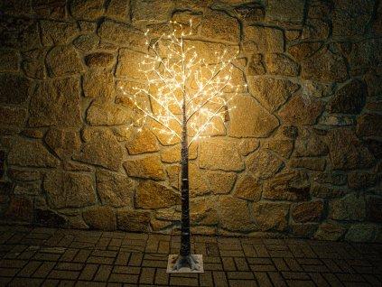 0345 LED strom světelný 180 cm vnitřní i venkovní (2)