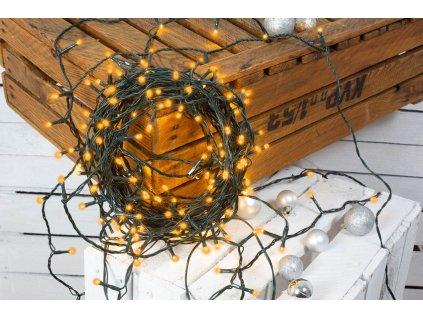 Vánoční světelný řetěz JANTAR 8 m
