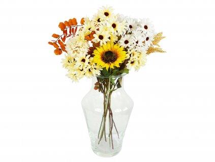 Váza skleněná 25 x 23 cm 1 (1)