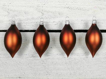 Sada 4 ks ozdob: Ozdoby olivy