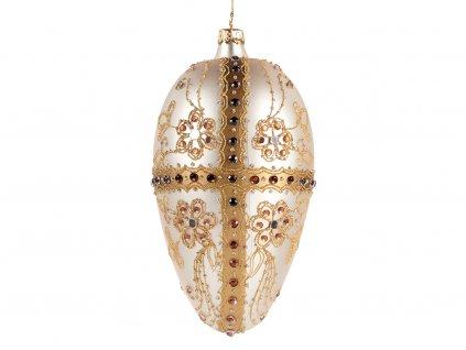 Ozdoba Ozdoba Fabergého vejce 15 cmabergého vejce 15 cm 1024x768