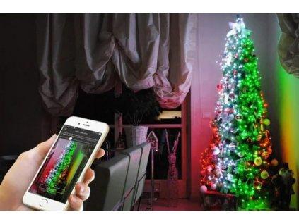 SMART LED vánoční řetěz 10,5 m - VOLITELNÉ BARVY A OBRAZCE
