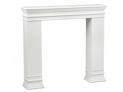 P0517 Krb bílý dekorační 103 x 96 x 19 cm
