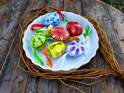 Velikonoční kraslice 6 ks