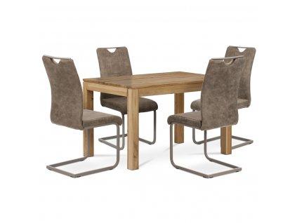 Jídelní stůl dub 120 x 80 x 75 cm