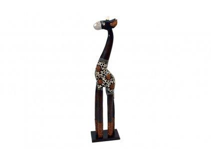 Dřevořezba žirafa 60 cm