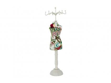 Sada 2 ks stojanů: Stojánek na šperky dřevěný 39 cm