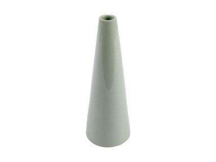 Váza keramická, lanýžová 22 cm