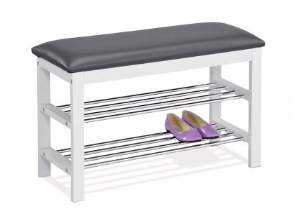 Botník / lavice bílá 49 x 80 cm