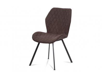 Jídelní židle hnědá / kov