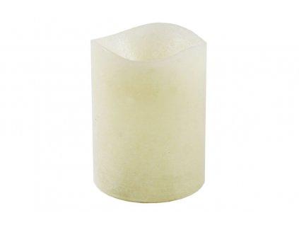 Sada 6 ks: LED svíčky krémové 8 x 10 cm
