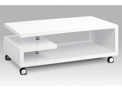 Konferenční stolek bílý 115 x 60 x 45 cm