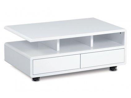 Konferenční stolek bílý 100 x 60 x 41 cm