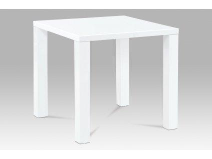 Jídelní stůl bílý 80 x 80 x 76 cm