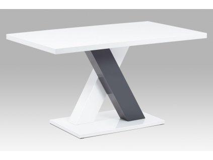 Jídelní stůl bílý 140 x 80 cm