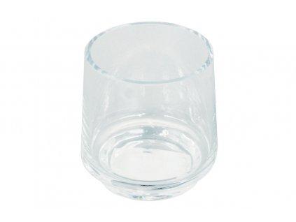 Sada 2 ks: Vázy skleněné 12,5 cm