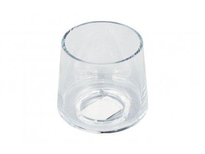 Sada 2 ks: Vázy skleněné 9 cm