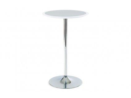 Barový stůl bílý 60 x 105 cm