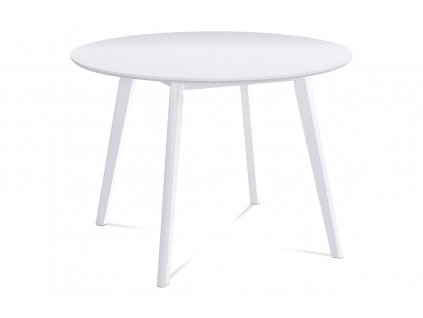 Jídelní stůl bílý 106 cm