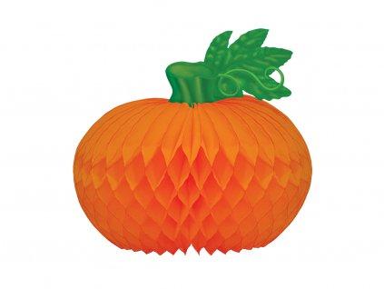 Dýně papírová oranžová 20 cm