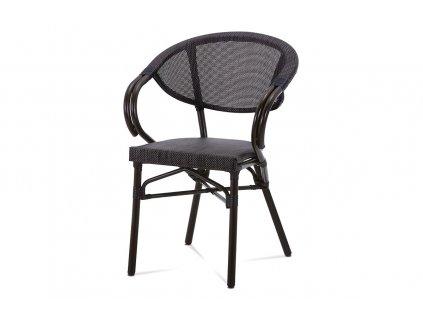 Zahradní židle hnědá