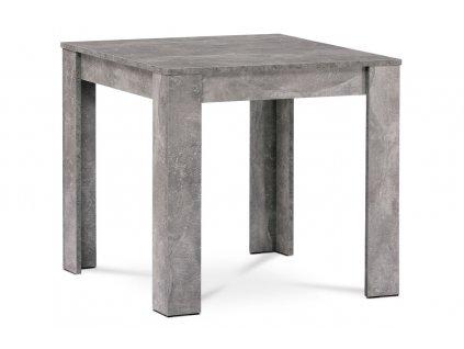 Jídelní stůl beton 80 x 80 x 74 cm