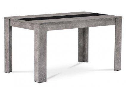 Jídelní stůl dekor betonu 138 x 80 x 74 cm