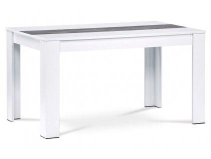 Jídelní stůl bílý 138 x 80 x 74 cm