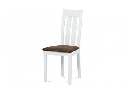 Jídelní židle bílá / buk