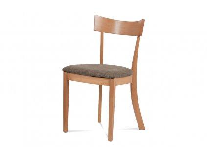Jídelní židle buk / krémový potah