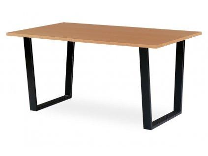 Jídelní / kancelářský stůl tmavý buk 150 x 90 cm