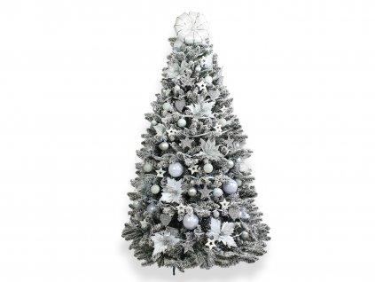 Vánoční stromek zasněžený DELUXE Viola 150 cm