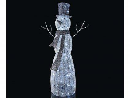 LED světelná dekorace SNĚHULÁK 124 cm