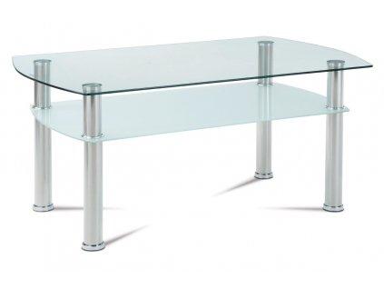 Konferenční stolek leštěný nerez 44 cm