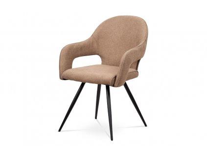 Jídelní židle cappuccino látka / lak