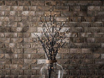 LED KYTICE vánoční světelná 2 x 60 cm