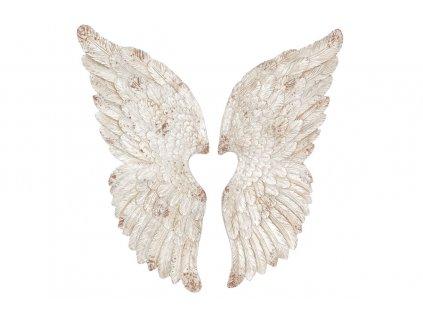 Andělská křídla keramika 40 x 108 x 7 cm